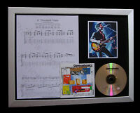 STEREOPHONICS Thousand Trees MUSIC CD QUALITY FRAMED DISPLAY+FAST GLOBAL SHIP