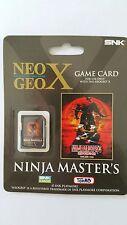 UK-NINJA MASTER NEO GEO X NEW