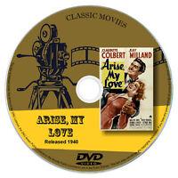 Arise, My Love 1940 Classic DVD Film - Drama