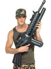 Inflatable Machine Gun, Land, Sea and Air Forces Fancy Dress/Cosplay #CA