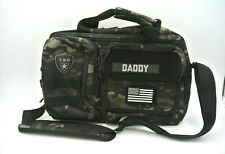 Tactical Baby Gear Diaper Bag 2.0 Tote (Black Camo)
