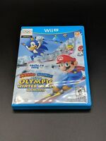 Mario & Sonic At the Olympic Winter Games Sochi 2014 Nintendo Wii U LN COMPLETE!