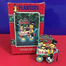 Enesco Treasury Ornaments Nutty About Christmas Planters 1995 New E7