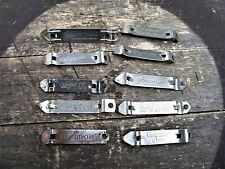New listing Vintage Beer Bottle & Can Openers ~Some Uncommon Breweries ~ 10 Church Keys