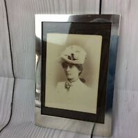 Antique Solid Silver Photo Frame. Excellent But Needs A New Strut. Chester 1919