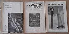 LA GAZETTE APICOLE 53ème année Année 1952 complète