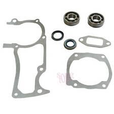 Engine Gasket Crank Bearing Seals Kit For HUSQVARNA 362 365 371 372 372XP Replac