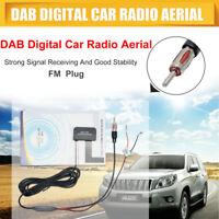 DAB Internal Car Radio Antenna Glass Mount DAB+ Digital Car Aerial Universal FM