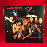 Hanoi Rocks Oriental Vaincre 1983 GB Vinyle LP Excellent État Original