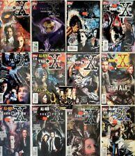The X Files Comic Book Lot of 12 plus Season 9 Card Pack