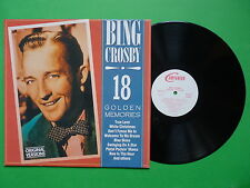Bing Crosby 18 Golden Memories 6187151 Companion Made in West Germany LP 33