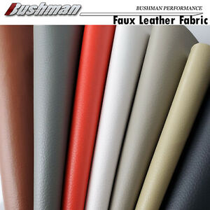 Upholstery Faux Leather Fabric Recover Leatherette Auto Seat Sofa Furniture DIY