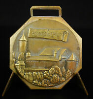 Medal Common Switzerland Porrentruy Canton Of jura View Of Castle Medal