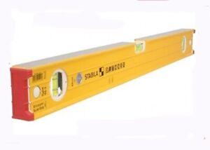"""STABILA 72"""" (180CM/6FT) 96-2 Professional Spirit Level 3 Vial Aluminium Profile"""