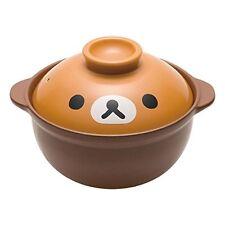 Ceramic Pot Rilakkuma Die-cut and Face Series Tableware B563