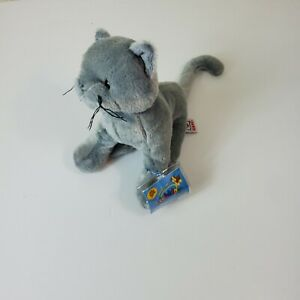Webkinz Charcoal Cat HM152 With Sealed Code