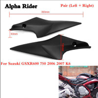 Black Tank Side Cover Panels Fairing For Suzuki GSXR600 750 2006 - 2007 K6 06 07