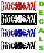 Hoonigan Vinyl Decal Sticker Ken Block JDM Euro Window Windshield Banner Drift