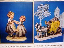 Goebel - Hummel Calendars 1966-1969 (Set # 10)