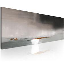 100% Handgemalt – Gemälde / Bilder Leinwand Abstrakt 100x40 0101-5_MK