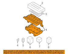 Chevrolet GM OEM 04-06 Aveo Electrical-Fuse & Relay Box 96539834