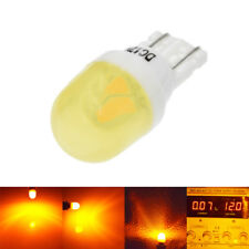 2Pcs Amber T10 Ceramic LED 2835 194 168 LED Car Light Bulb Wedge Tail Side Lamp