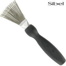Sibel Professional Black Hair Brush & Comb Cleaning Tool - Hair Removal Scraper
