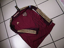 Team Russia Mens Official Soccer LSJersey Adidas Size XL Maroon 2014