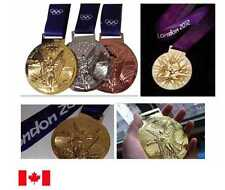 London 2012 Olympic Medal Set + Silk Ribbon