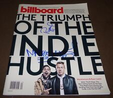 MACKLEMORE & RYAN LEWIS SIGNED BILLBOARD MAGAZINE w/ PROOF MAY 25, 2013