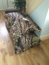 real tree camo  waterproof durable dog bed cosey removable inner 45x 28inch