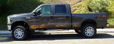 Solid Rocker Panel flame flames decal decals graphics fit Ford F150 F250 F350