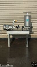 2 Hp Fti Ss Centrifugal Pump with FulFlo Filter on Ss Base