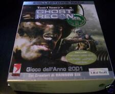 GHOST RECON Collector's Pack gioco pc originale ITA PAL