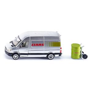 FURGONE CLAAS SERVICE 1:50 Siku Camion Die Cast Modellino