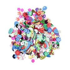200 Trendy Decorate Mix Shape Loose Sequins Paillettes Sewing Wedding Crafts