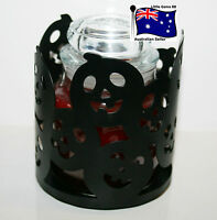 YANKEE CANDLE ~ PUMPKIN HALLOWEEN ~ FOR SMALL JARS ~ SMALL JAR HOLDER