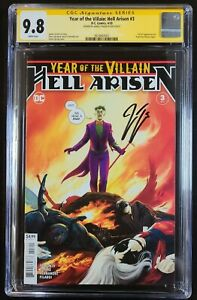 Year of the Villain: Hell Arisen #3 CGC SS 9.8 Signed Tynion 1st PUNCHLINE