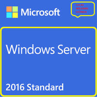 windows server 2016 standard edition + Latest Version + ESD + quick delivery
