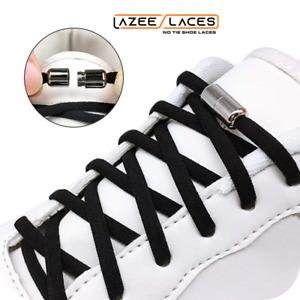 Lazee Laces™ Quick Twist to Lock Capsule No Tie  Elastic Shoelaces.
