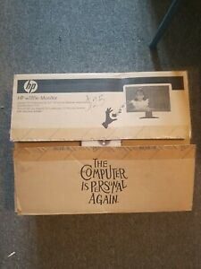 """HP Pavilion W185e 18.5"""" LCD Monitor with built-in speakers New in open box"""