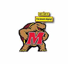 University of Maryland Terrapins Decal/Sticker Fear the Turtle Big 10 NCAA p91