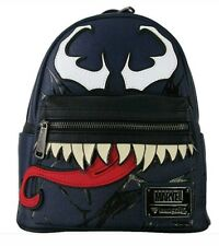 Disney Loungefly Marvel VENOM mini faux leather backpack rare limited release!!