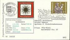 AUSTRIA 1972 CHRISTMAS BALLON POST COVER