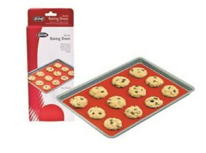 D Line Silicone Tray Liner For Cookies Baking Sheet with 6 bonus Cookie Cutters