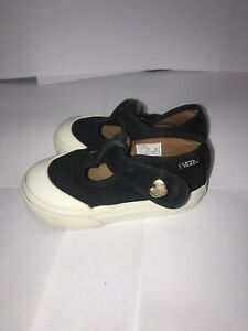 Vans Girls Kids Baby Toddler Canvas Shoes Size 4.5C