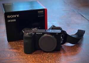 Sony Alpha a6600 24.2MP Mirrorless Camera - Body Only