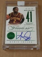 2012 Flawless Kyrie Irving RC Auto SSP 2/5 Jersey 1/1 Rare Autograph Rookie