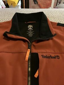 TIMBERLAND Full Zip Jacket Orange Men's Size M