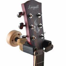 Wall Mount Guitar Hanger Hook Holder Keeper Lock Bass Banjo Violin Mandolin Lo